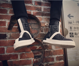 DXM YEAR OF THE SNEAKER SKATEBOARD HIGH UNISEX SNEAKER BOOTS - boopdo