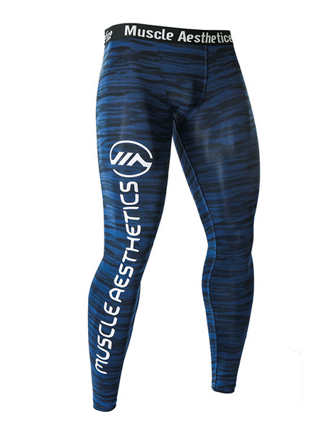 MUSCLE WOLF KING RANGER FITNESS COMPRESSION LEGGINGS TIGHT - boopdo