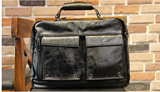 ZEAWOO YOMMO LEATHER BACKPACK IN BLACK - boopdo