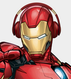 AVENGERS INFINITY WAR THANOS IRON MAN CAPTAIN AMERICA WIRELESS BLUE TOOTH STEREO HEADPHONE - boopdo