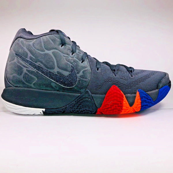NIKE KYRIE 4 YEAR OF THE MONKEY ANTHRACITE BLACK BASKETBALL SHOES 943806 011 - boopdo