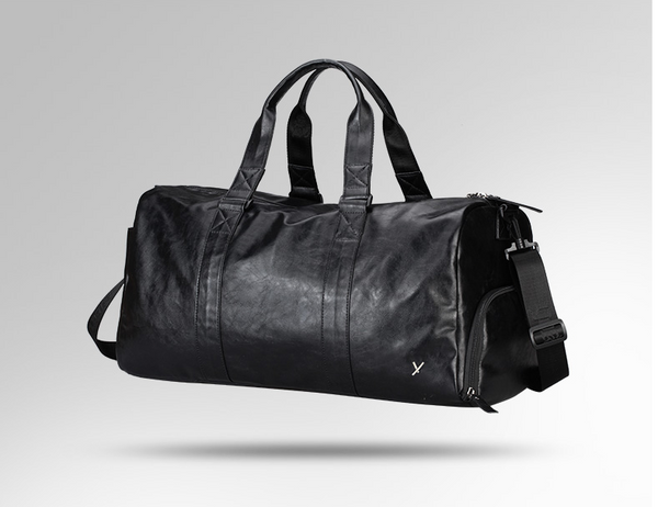 YOOXK DUFFEL LARGE CAPACITY WATERPROOF LEATHER FITNESS BAG