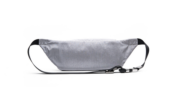 OMTO WOLF GREY CROSS BODY BUM BAG WITH FRONT POCKET 828016213 - boopdo