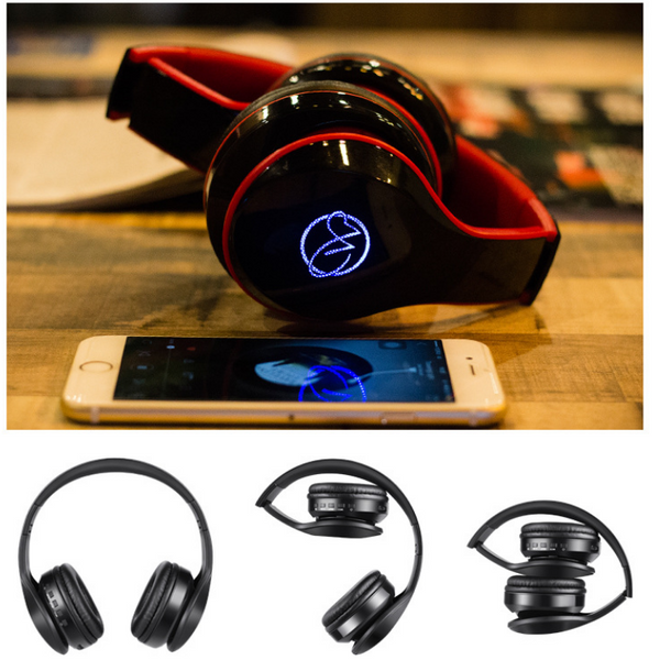 MUSIC STEREO LIGHT VERSION WIRELESS BLUETOOTH SPORTIVE HEADSET - boopdo