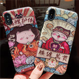 IPHONE CASE FOR APPLE NEW YEAR FESTIVE SOFT SILICONE COVER