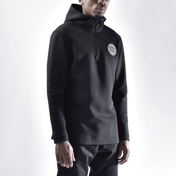ZONOS CONCEPT BASKETBALL DESIGN BY ZONEID HOODIE PULLOVER SWEATERS IN GRAY AND BLACK - boopdo