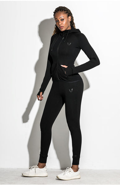 ELITE ABS RUNNING TRAINING TRACK JACKET WITH HOOD - boopdo