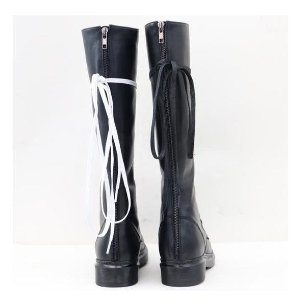 NUMEXIA AMERIK UNISEX LEATHER LONG BOOTS