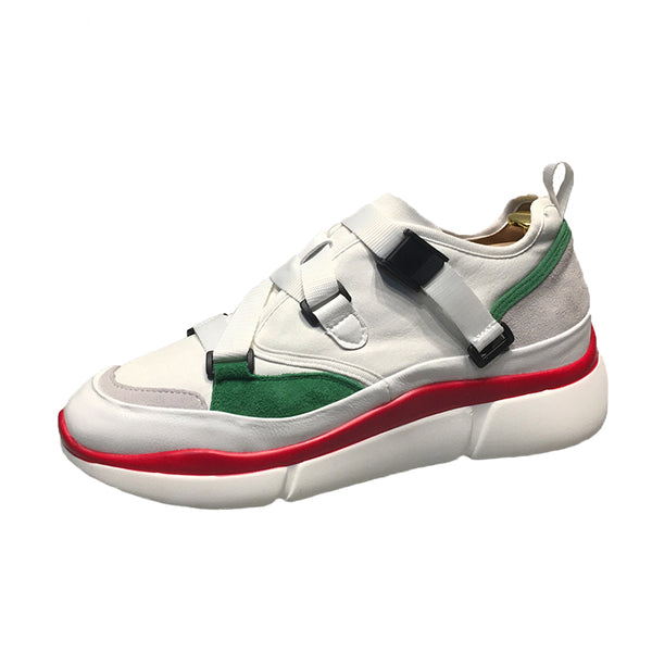 BELLESSA DAY LIGHT CHUNKY PLATFORM CASUAL TRAINERS SNEAKER IN MULTI COLOR
