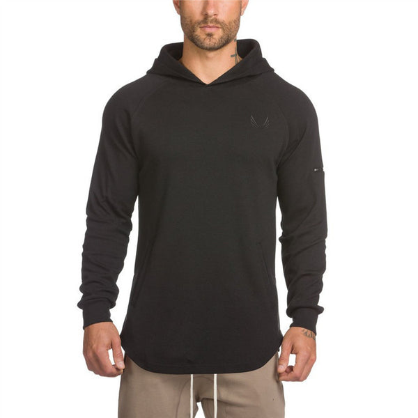OVER THE HEAD STYLE DRAWSTRING HOODED SWEATSHIRT - boopdo