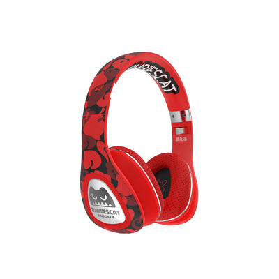 ZOMBIES CAT NAUGHTY MAGIC BASS SOUND WIRELESS EAR SET HEADPHONES - boopdo