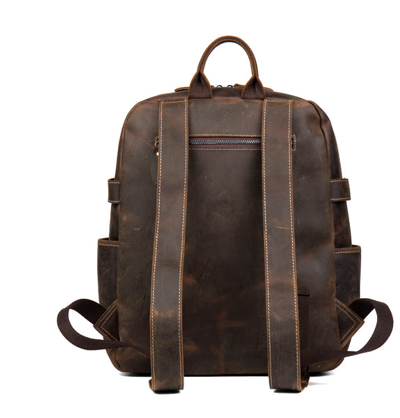 MANTIME BOOPDO DESIGN 14 INCH WATERPROOF TRAVEL BACKPACK IN KHAKI