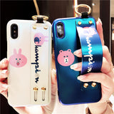 RAMPIOX CUTIE BEARS APPLE IPHONE COVERS WITH WRISTBAND - boopdo
