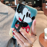 BOOPDO DESIGN MOUSE CARTOON EMBOSSED APPLE IPHONE COVERS - boopdo