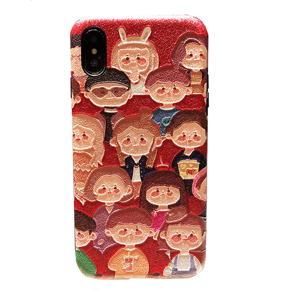 XS MAX APPLE IPHONE PROTECTIVE PHONE COVER - boopdo