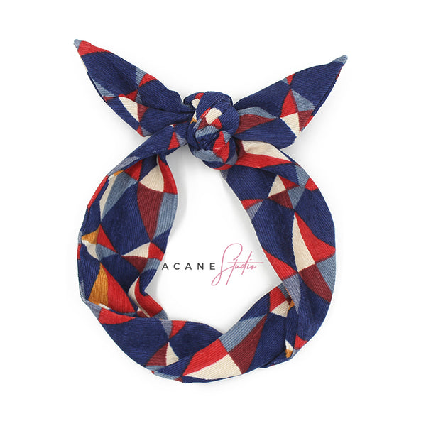 ACANE STUDIO VINTAGE LOOK COLOR BLOCK HEAD BAND