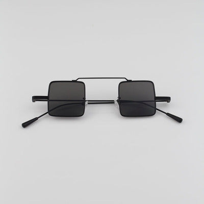 SISYPHUS ESPANIOL CONCAVE SHAPE RECTANGLE FRAME SUNGLASSES - boopdo