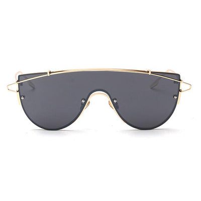 SISYPHUS VOGUES AIR FORCE PILOT LARGE FRAME SUNGLASSES