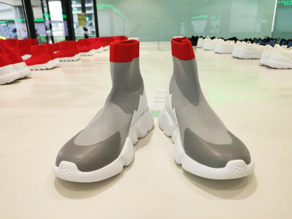 DUO ZOU LENZY ULTRA LIGHT BOOST SOCK SNEAKER