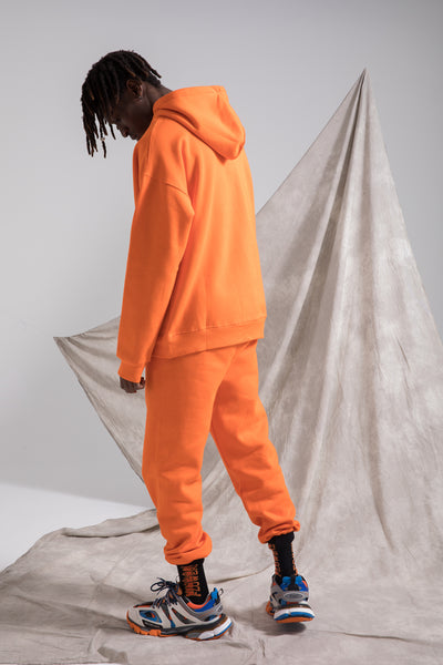 HYPESTER STYLE URBAN FASHION INSPIRED MATCHING PANTS WITH HOODED PULLOVER