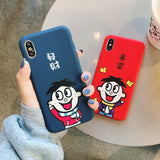 XMAS RICHY BOYS ANTI FALL APPLE IPHONE CASES - boopdo