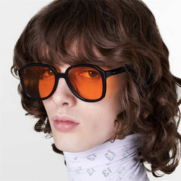 MAZDO TRANSPARENT LARGE FRAME ANTI BLU RAY SUNGLASSES