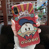 CHIPO DONALDA DUCKIES CARTOON EMBOSSED APPLE IPHONE CASES - boopdo