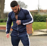 ATHLETIC MUSCLE GUY TRAINING FITNESS TRACK SUIT