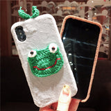 FROG PRINCE KERMIT APPLE IPHONE PROTECTIVE CASE - boopdo