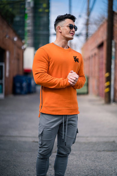 MUSCLE CAPTAIN KING CREW NECK CASUAL SWEATSHIRT - boopdo