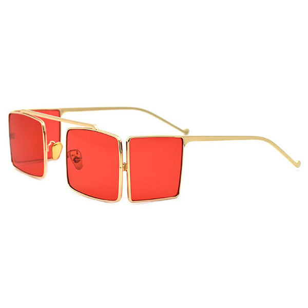 SISYPHUS DOUBLE SIDED PUNK ANTI UVA POLARIZED SUNGLASSES - boopdo