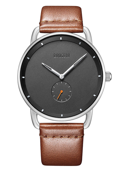 NORDIC STYLE PAUGELAS PIN BUCKLE WATERPROOF TEMPERED GLASS WATCHES