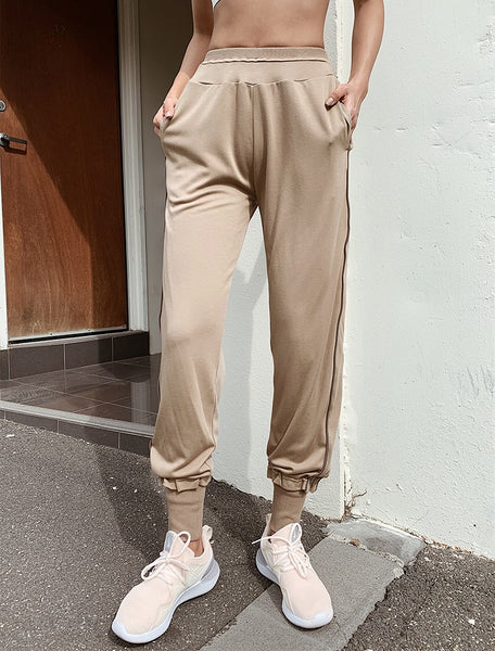 MISCHIEF STRIPE DETAIL SKINNY FIT SWEATPANTS - boopdo