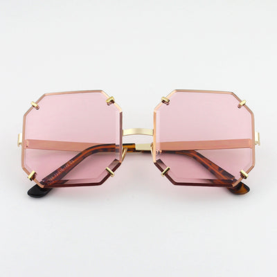 SISYPHUS BOOPDO DILIEBA SQUARE FRAME SUNGLASSES IN JELLY COLORWAY
