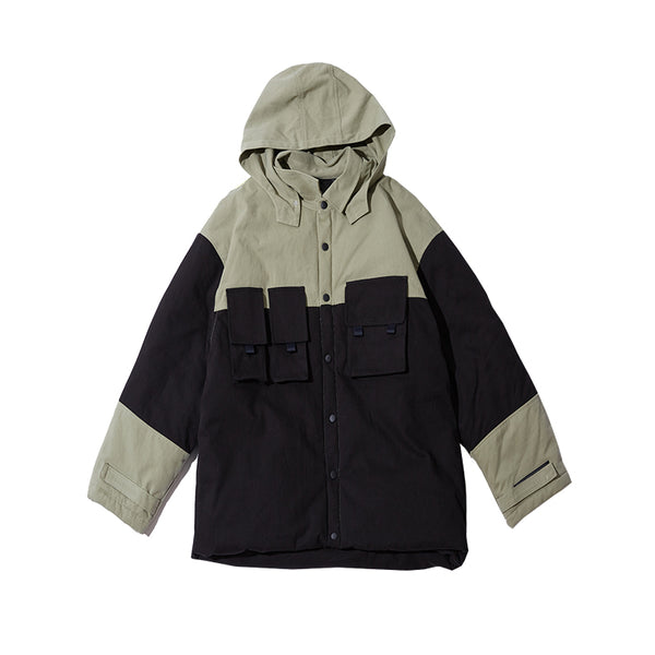 FRLMK TAGONIA HOODY PULLOVER JACKET IN TWO COLOR - boopdo