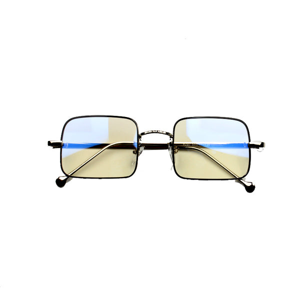 BOOPDO DESIGN INDY STATE INSPIRED SQUARE FRAME SUNGLASSES