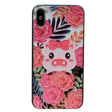 cutie pigs boopdo design frame work apple iphone cases