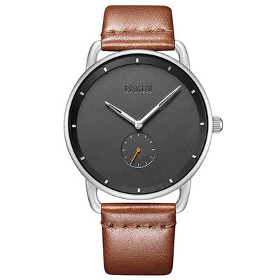 NORDIC STYLE PAUGELAS PIN BUCKLE WATERPROOF TEMPERED GLASS WATCHES - boopdo