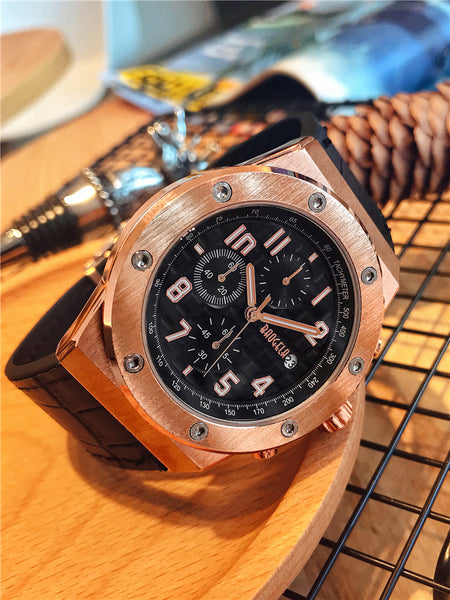 BIG DIAL QUARTZ DOUBLE SIDED BUCKLE WATERPROOF WATCHES - boopdo