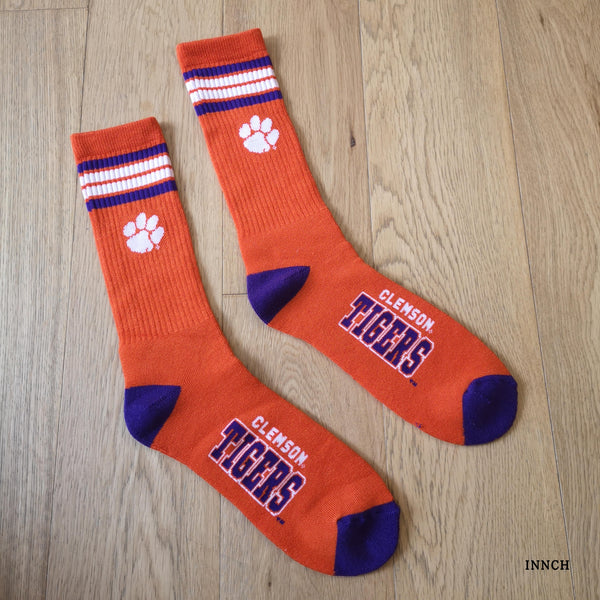 CLEMSON TIGER FLORIDA GATORS SOUTH GAMECOCKS RUGBY SOCKS