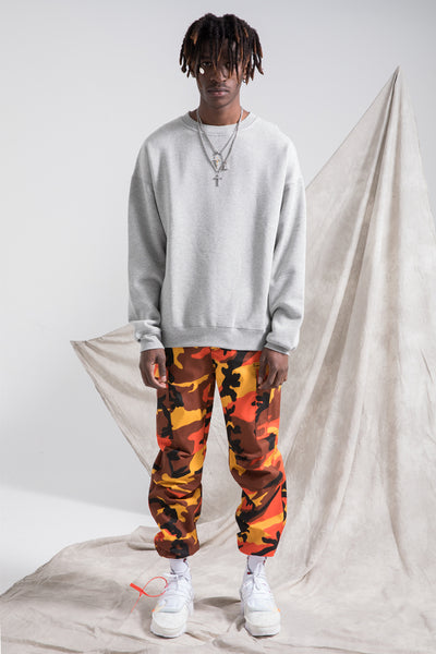 WANGZO BORCH MAX ADJUSTABLE CAMOUFLAGE SWEATPANTS IN MULTI COLOR - boopdo