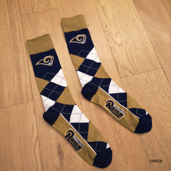 MAPLE LEAF LOS ANGLES LINGGE FOOTBALL AND ICE HOCKEY SOCKS - boopdo