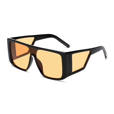 SISYPHUS BOOPDO DESIGN BIG BOX SQUARE FRAME SUNGLASSES