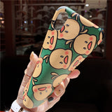 BABY DUCK CARTOON MEGIE YELLOW ANTI FALL APPLE IPHONE CASES - boopdo