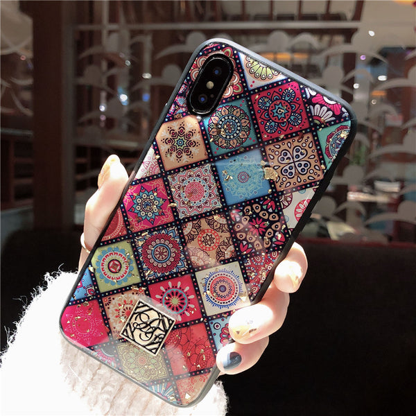EPOXY CERAMIC INSPIRED ANTI FALL APPLE IPHONE COVERS - boopdo