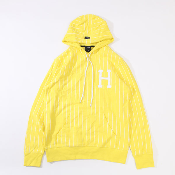 HUF SKATEBOARD LEAGUE BOX LOGO STRIPED HOODIE PULLOVER WITH HOODIE