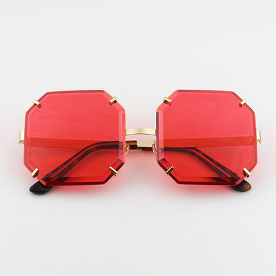 SISYPHUS BOOPDO DILIEBA SQUARE FRAME SUNGLASSES IN JELLY COLORWAY - boopdo