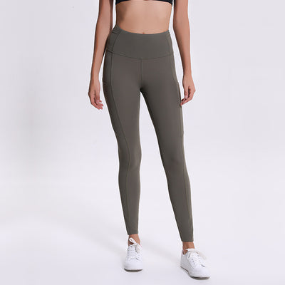 LULU YOGA STYLE SPORTSWEAR HIGH WAIST RUNNING LEGGINGS - boopdo