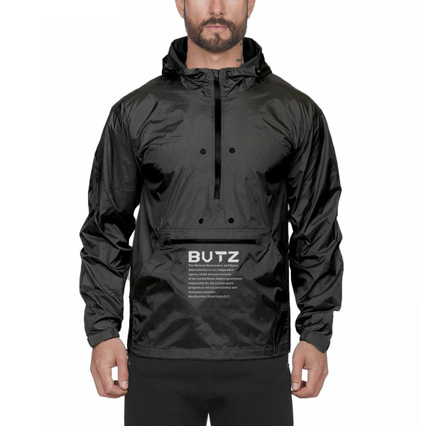 MUSCLE KING RANGER OUTDOOR WATERPROOF HOODED WINDBREAKER - boopdo