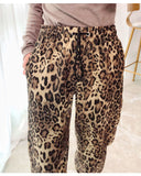 8GIRLS DESIGN OVERSIZED JOGGERS IN LEOPARD PRINT - boopdo